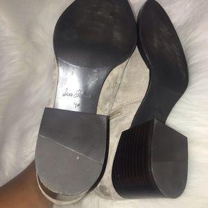 Sam Edelman Shoes - Sam Edelman Joey Gray Suede Ankle Booties Sz 9.5